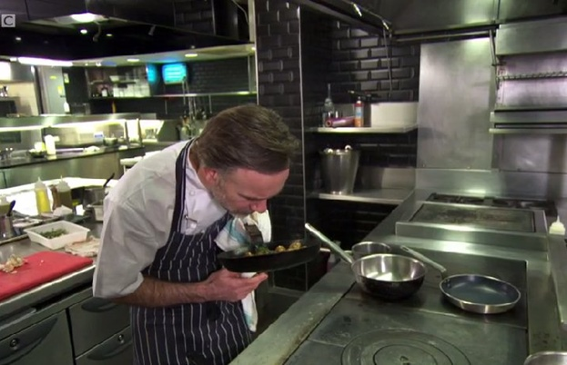 Marcus Wareing cooking