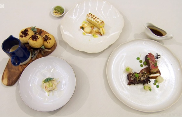 Jamie's Masterchef finals dishes
