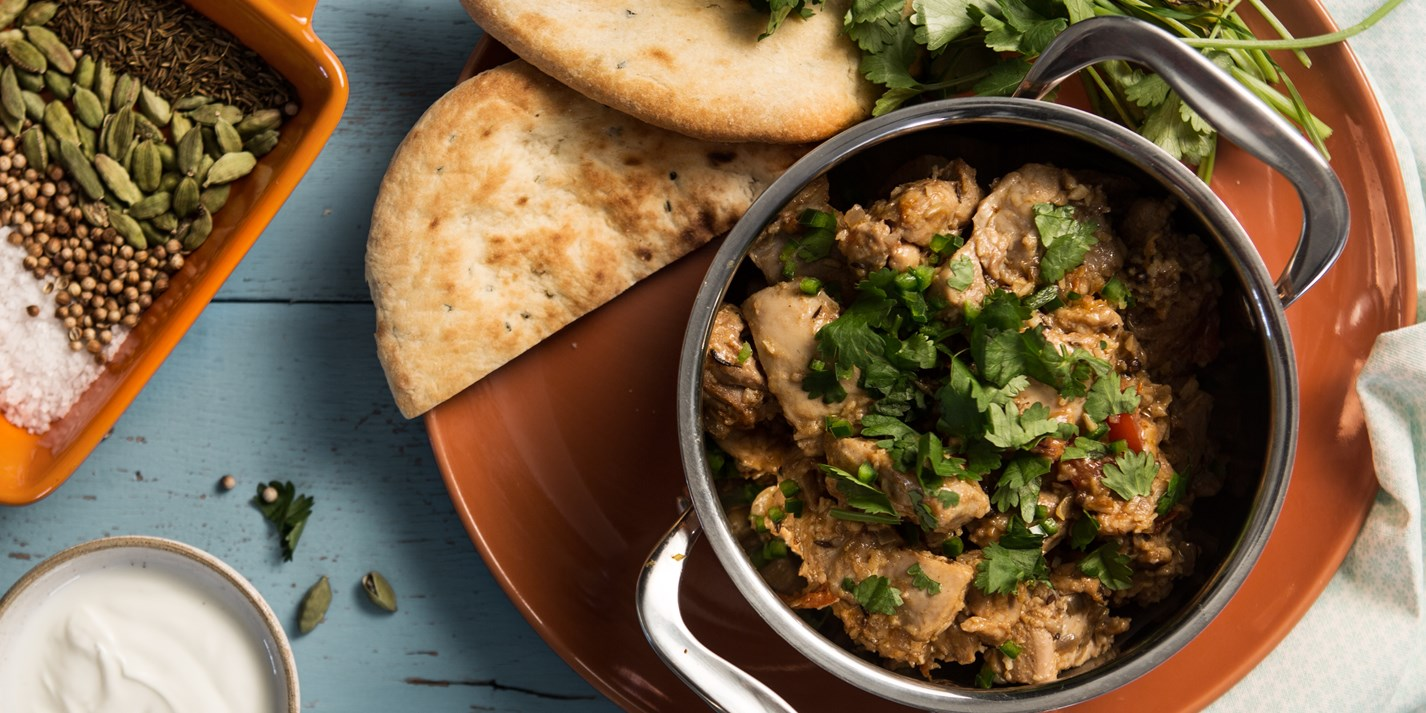 Aromatic chicken handi