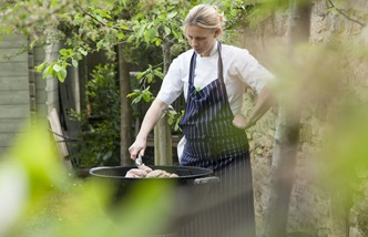 Chef Emily Watkins of The Kingham Plough