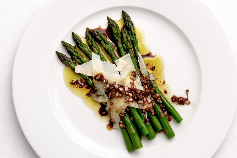 asparagus recipe with balsamic vinegar parmesan great