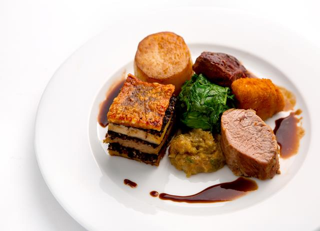 Pork four ways
