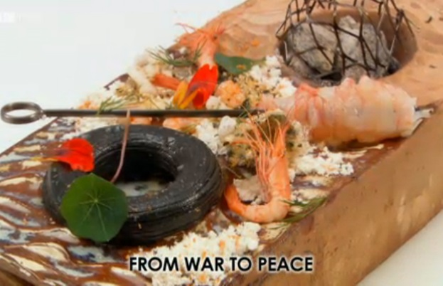 Colin McGurran's 'From war to peace'