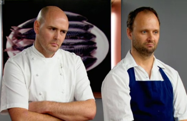 Aiden Byrne and Simon Rogan