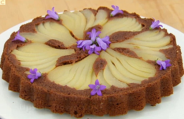 Pear cake from GBBO