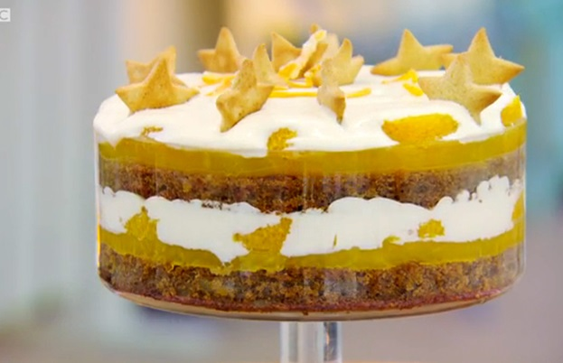 Ginger cake trifle