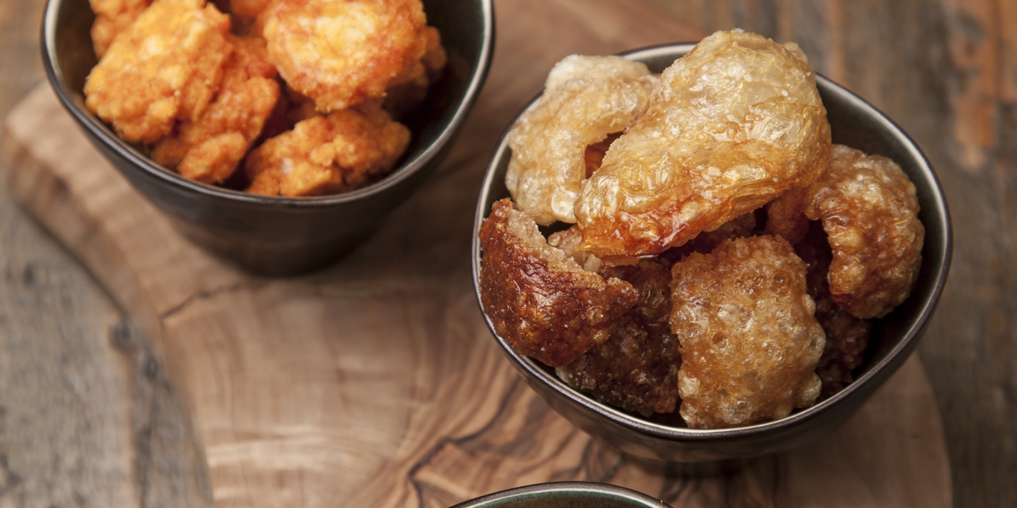 Pork scratchings recipe