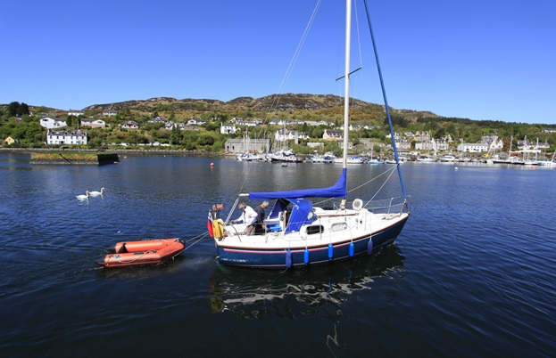 The harbour at Tarbert on Loch Fyne