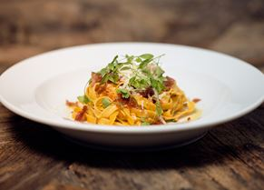 Tagliatelle with White Truffle Dressing