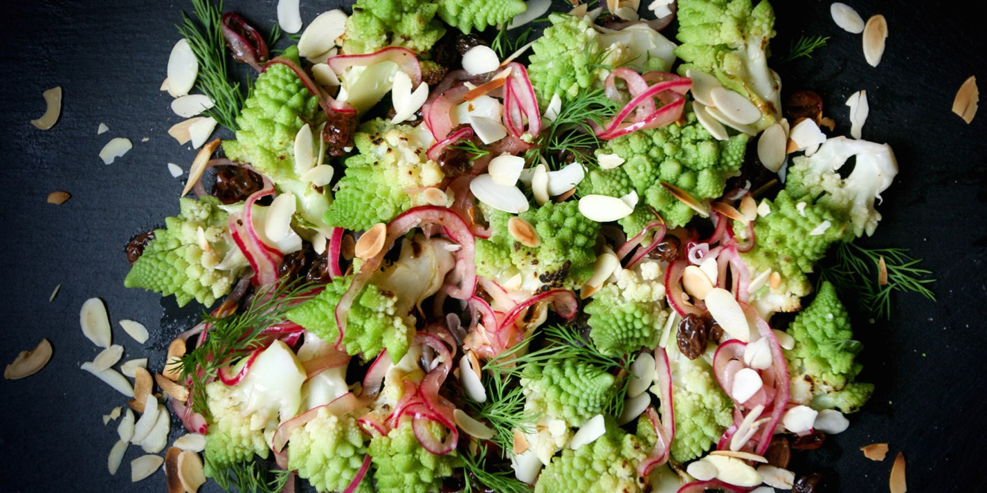Chargrilled Romanesco Salad Recipe