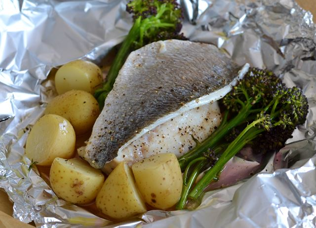 Sea Bream en papillote