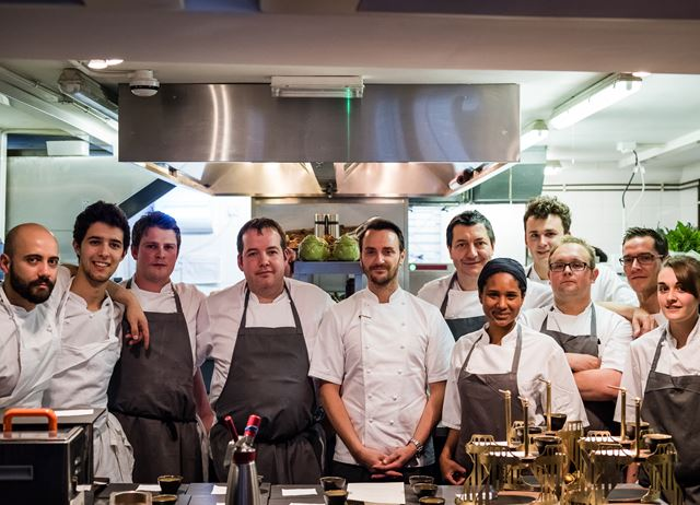 Drumbeats charity dinner with Jason Atherton and Laurie Gear