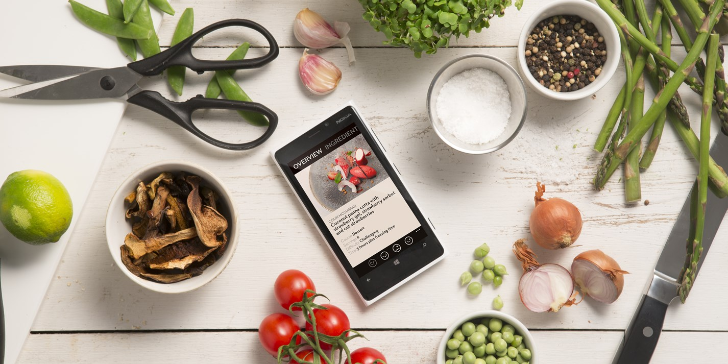 Recipes - Windows Phone app