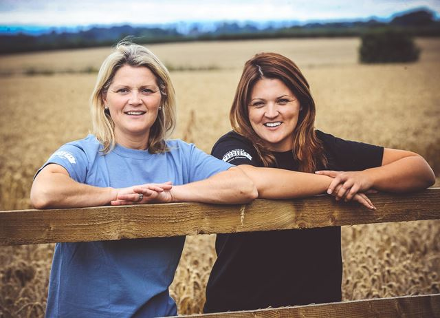 Katy and Caroline Bell of Shepherds Purse Artisan Cheeses