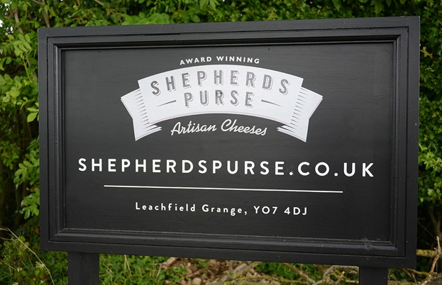 Shepherds Purse Artisan Cheeses, near Thirsk, North Yorkshire