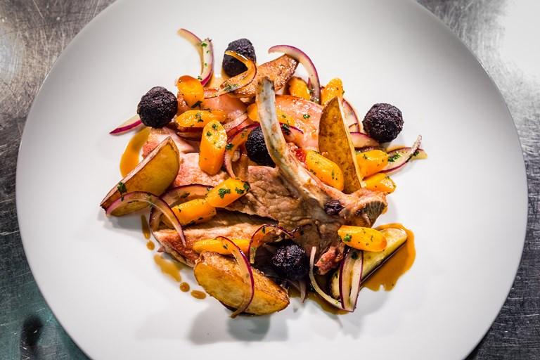 Pork Chop Recipe With Black Pudding Great British Chefs