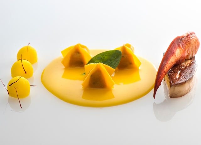 Lobster and Foie Gras Ravioli Recipe - Great Italian Chefs