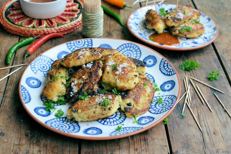 Bajan salt cod fishcake recipe great british chefs for How to make cod fish cakes