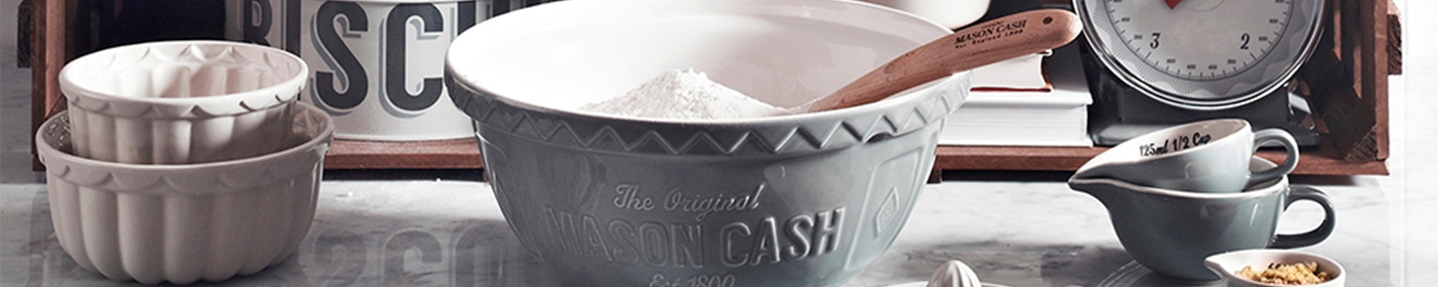 Win one of two classic Mason Cash kitchen sets worth over £40