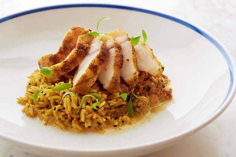 Monkfish tikka masala recipe great british chefs for Monk fish recipes