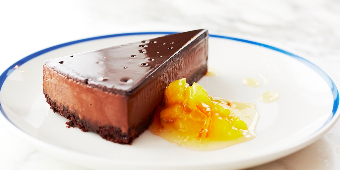 Triple Layered Chocolate Tart Recipe - Great British Chefs