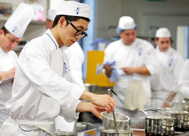 Top of the class: what you should be studying on a cookery course