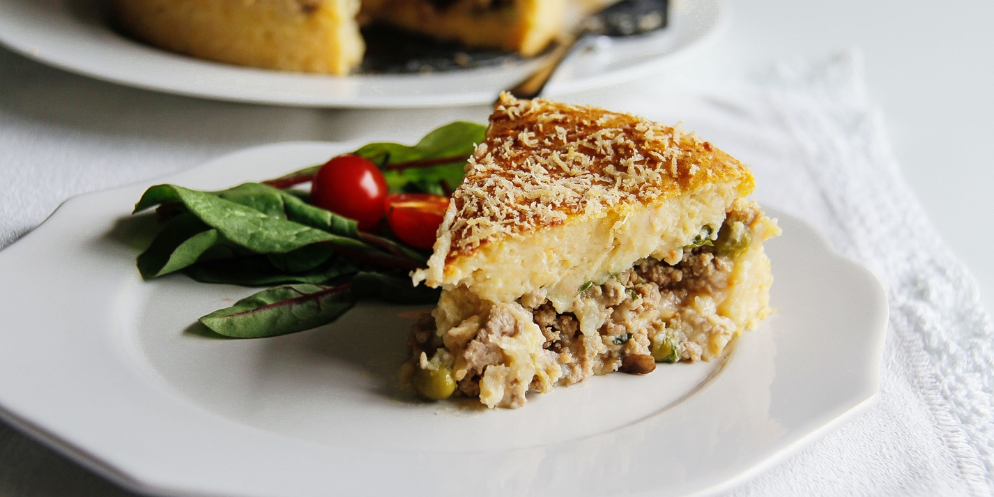 Minced turkey pie recipe