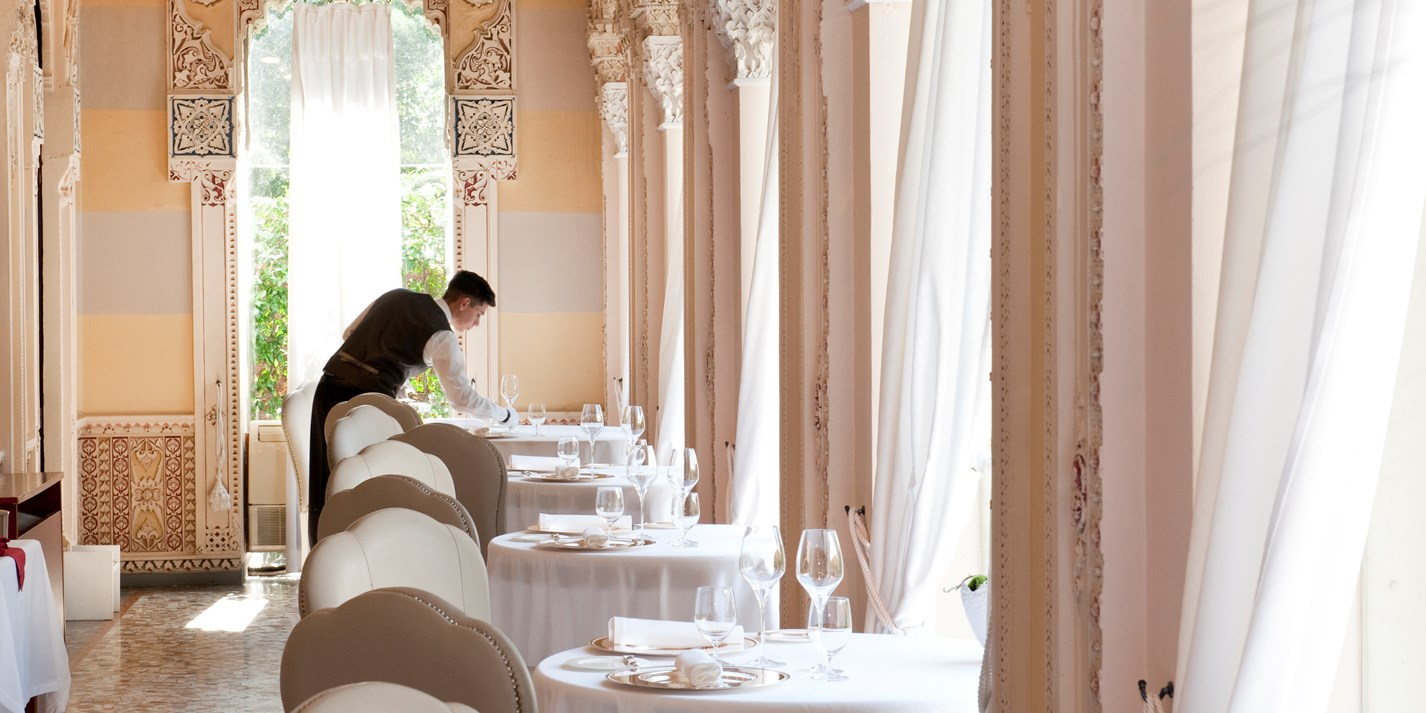 Two Michelin star restaurants in Italy