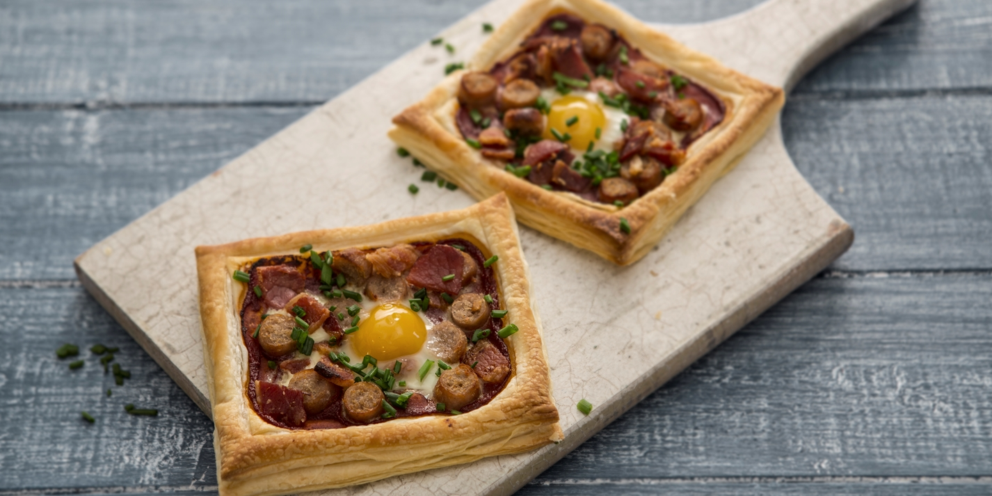 All day breakfast tartlets