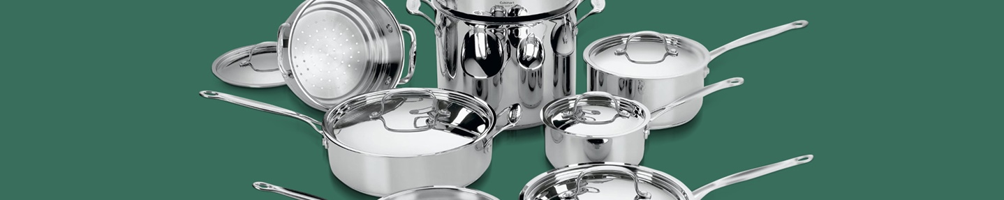 Win a 14-piece Cuisinart Chefs Classic Stainless Steel Cookware set courtesy of  Riso Gallo
