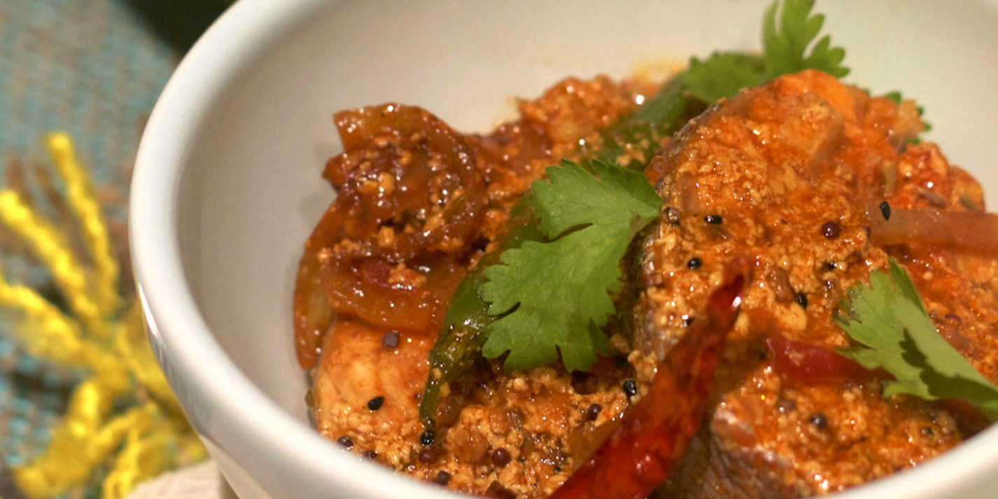 Achari Tamarind Fish Curry