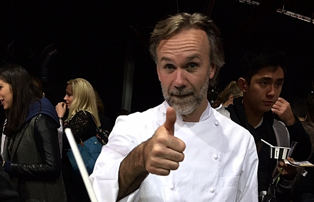 Marcus Wareing definitely proved very popular and so did Tredwell's short rib sliders!