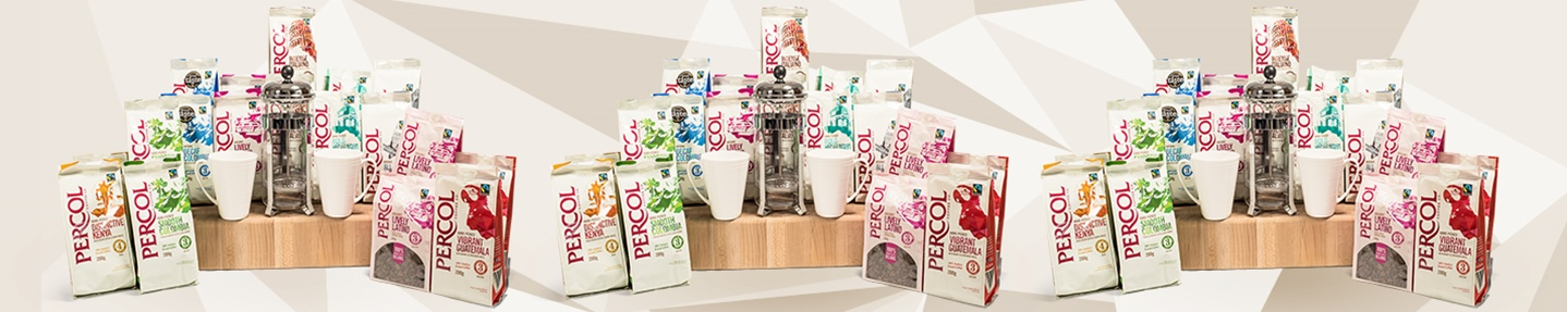 Win a fabulous selection of Percol Coffee plus an 8-cup cafetiere and mug set