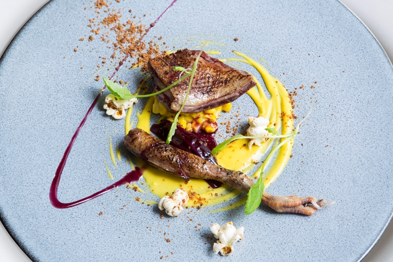 Sous Vide Pigeon With Sweetcorn Recipe Great British Chefs