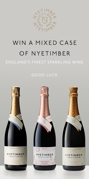 Win a mixed case of Nyetimber