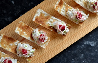 Top easy canapes for Christmas