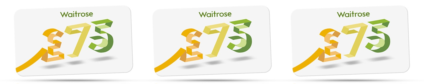 Win a Waitrose gift voucher worth £75