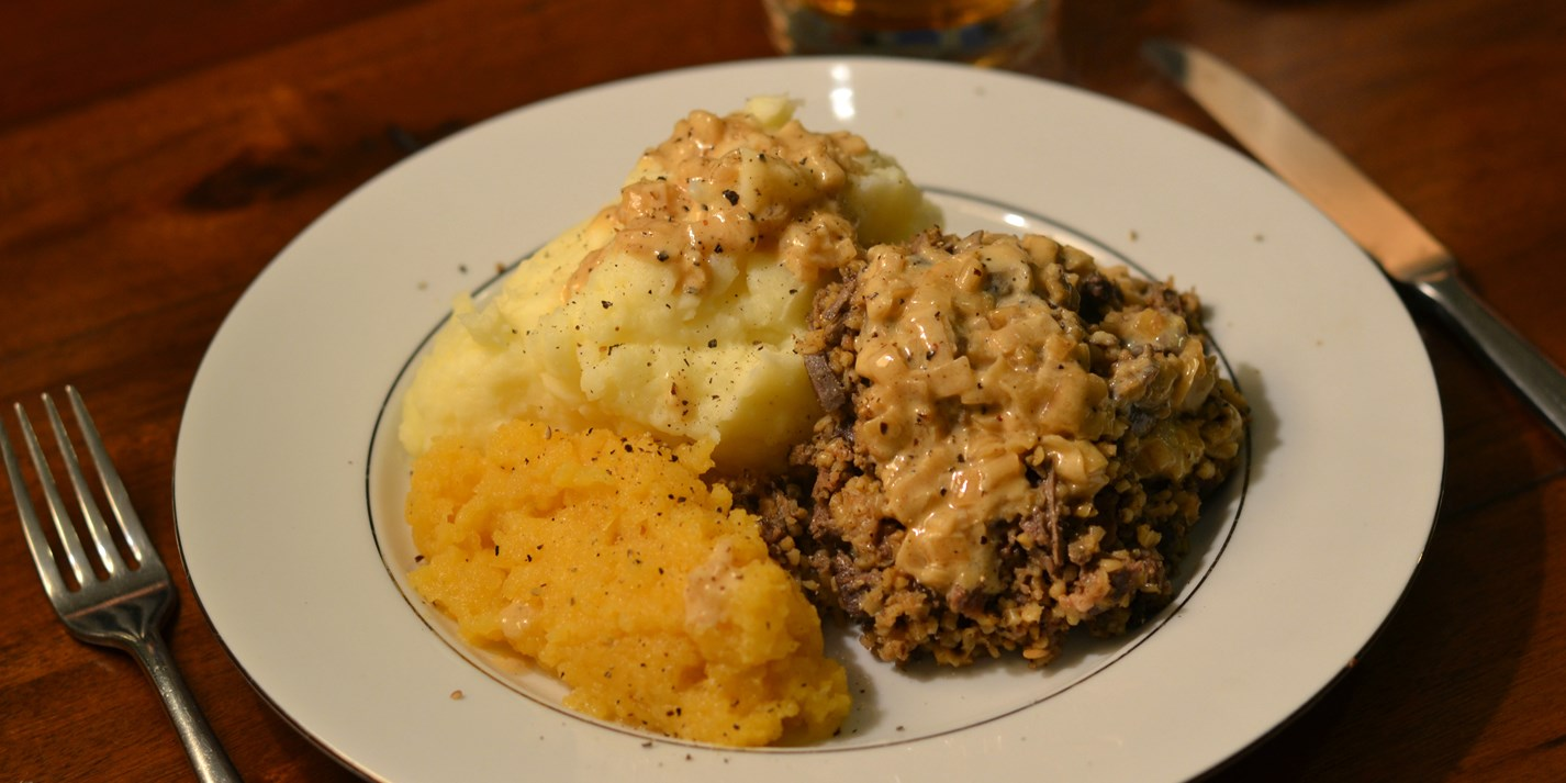 Traditional haggis recipe