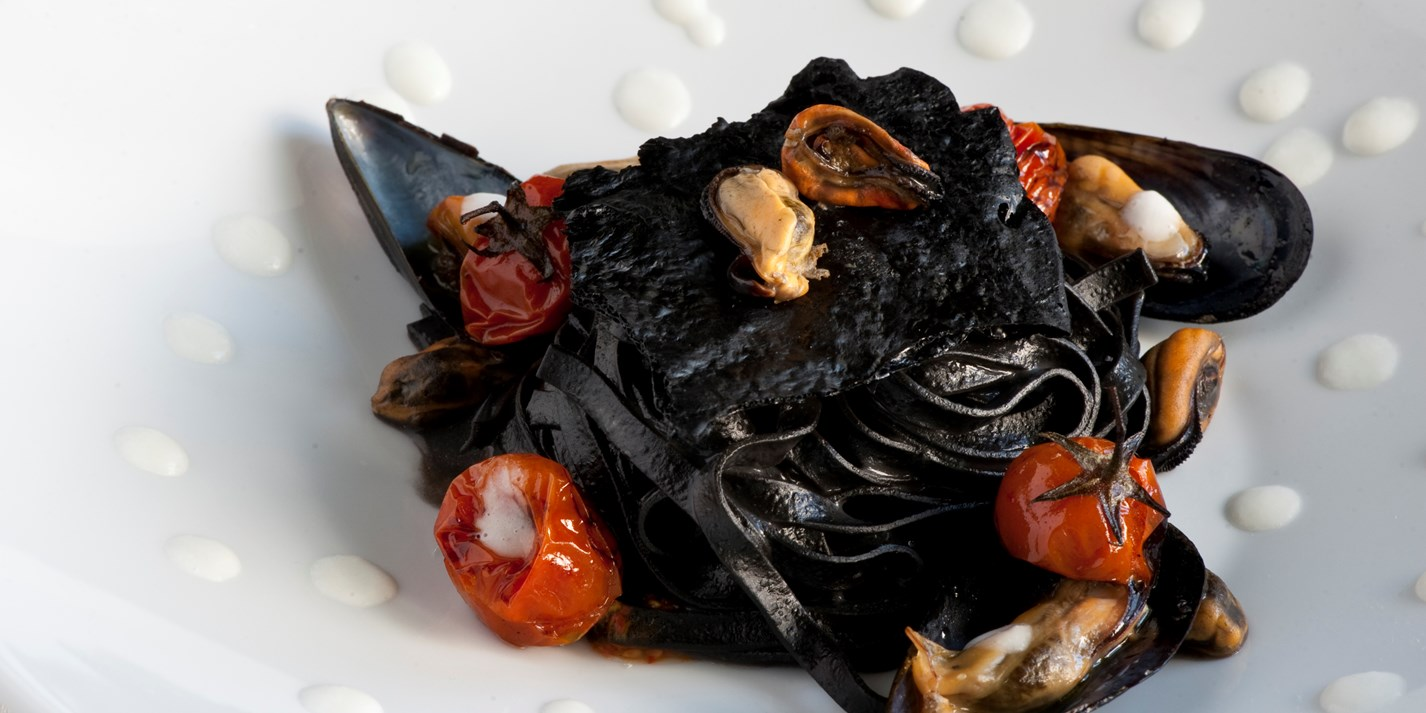 How to make squid ink pasta