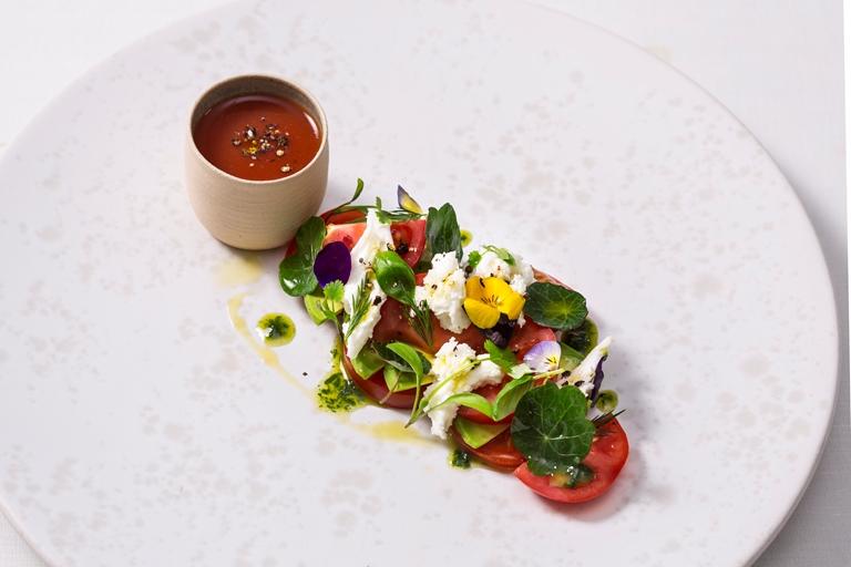 Tomato Salad Recipe with Avocado and Mozzarella - Great