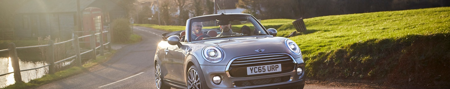 Win a weekend away with the new MINI convertible and Mr & Mrs Smith