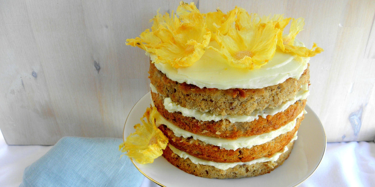 Golden hummingbird cake