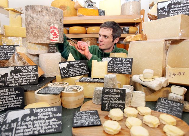 Britain's best affineurs and cheesemongers