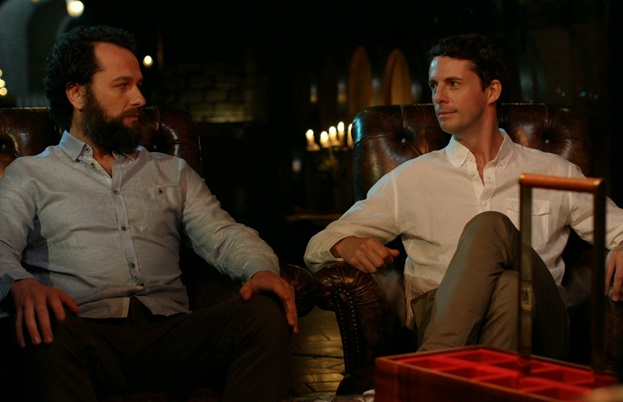 Matthew Goode and Matthew Rhys