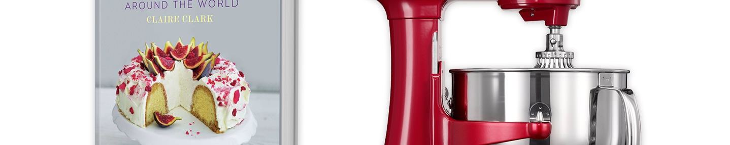 Win a KitchenAid® Artisan® stand mixer worth £800 plus runner up prizes of 80 Cakes from Around the World
