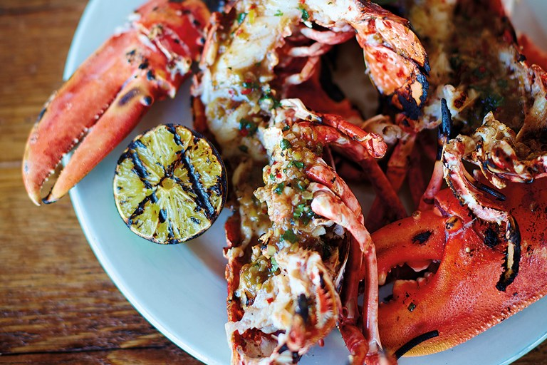Barbecued Jerk Lobster Recipe Great British Chefs