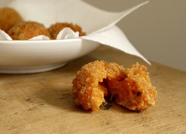 Croquetas de Sobrasada Recipe - Great British Chefs  Croquetas de So...