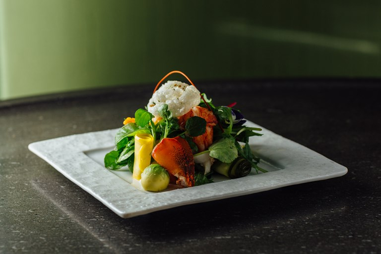 Lobster Salad Recipe With Yuzu Dressing Great British Chefs