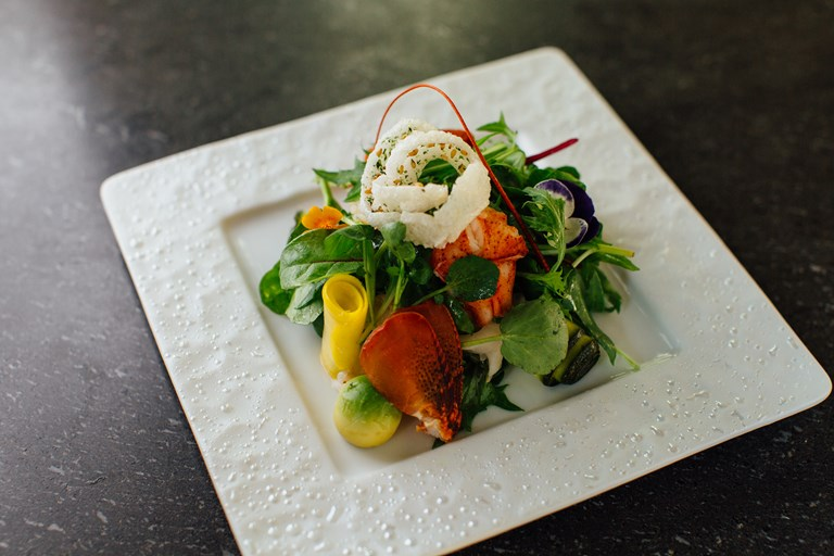 Lobster Salad Recipe with Yuzu Dressing - Great British Chefs