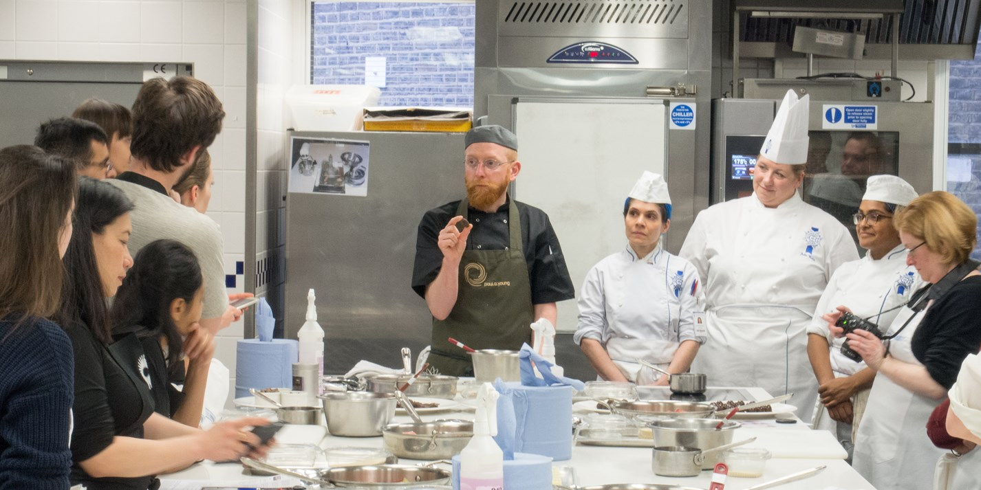 Cook school confidential: cooking with chocolate